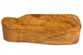 Big Leaf Maple Wood Box