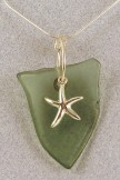 Seastar with Fishing Float Necklace