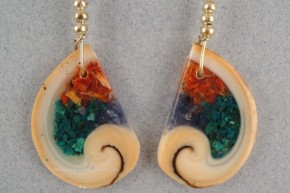 Spirit of the Ocean Shell Earrings