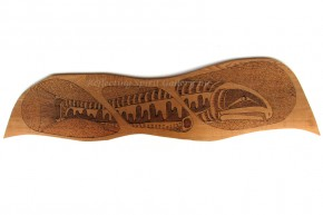 Spawning Chum-Wood Burn Triptych