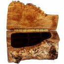 Natural Edge Maple Burl Jewelry Box