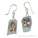 Bounty Earrings-Gold Vermeille Star