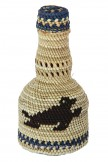 First Nations Woven Grass Bottle