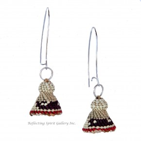 Traditional Woven Grass Earrings