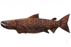 Salmon Carving