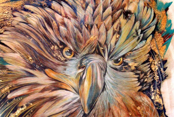 Eagle Hero - by Shannon McWhinney