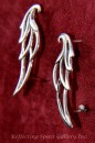 Silver Angel Wing Ear Hugger