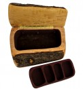 Maple Jewelry Box with Bark
