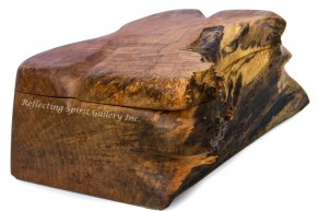 Large Big Leaf Maple Jewellery Box