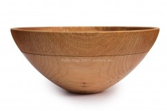 Salad Bowl With Carved Rim