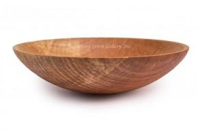 Carved Exterior Maple Bowl