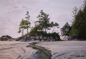 Tonquin Beach Creek